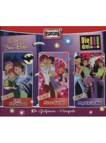United Soft Media Die drei !!!. Box.4, 3 Audio-CDs