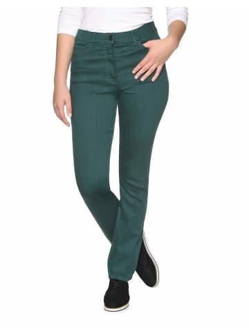 Bexleys woman 5-Pocket-Jeans in grün