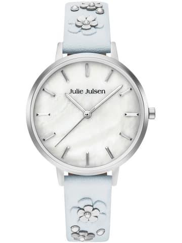 Julie Julsen Armbanduhr JJW103SL-4B in hellblau