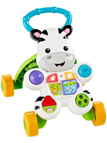 Mattel Fisher-Price Lern mit mir Zebra-Lauflernwagen, Baby Lauflernhilfe, Laufwage...