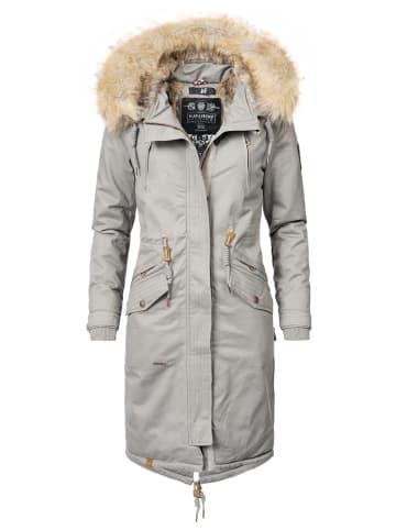 Navahoo Wintermantel Kin-Joo in Grau
