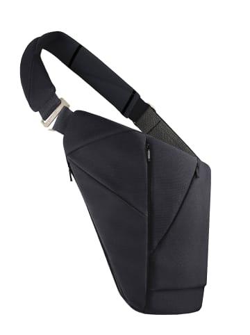 Baggizmo Bauchtasche Baggizmo Bag smarte Umhängetasche in schwarz
