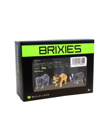 """BRIXIES 3-tlg. Set: Bausätze """"Zootiere"""""""