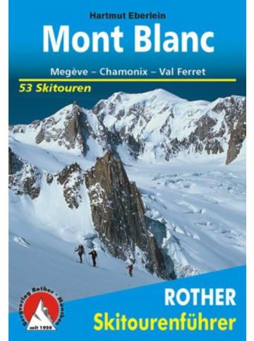 Bergverlag Rother Rother Skitourenführer Mont Blanc