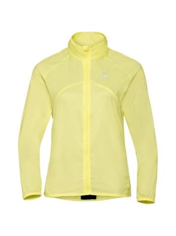 Odlo Jacke Jacket ZEROWEIGHT in Gelb