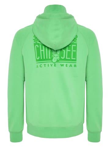 Chiemsee Sweatjacke in Irish Green
