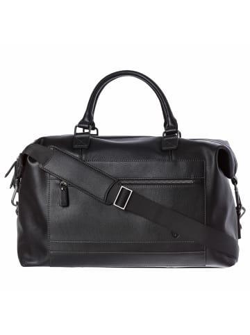 VON HEESEN Reisetasche in schwarz