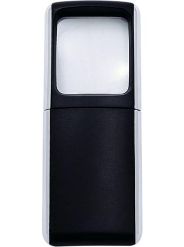 WEDO LED Lupe beleuchtet 3-fach schwarz, inkl. Batterie