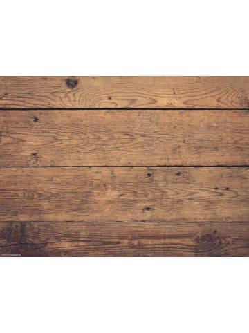 Tischsetmacher.de Tischset I Platzset abwaschbar - Holzoptik braun - 4 Stück - 44 x 32 cm
