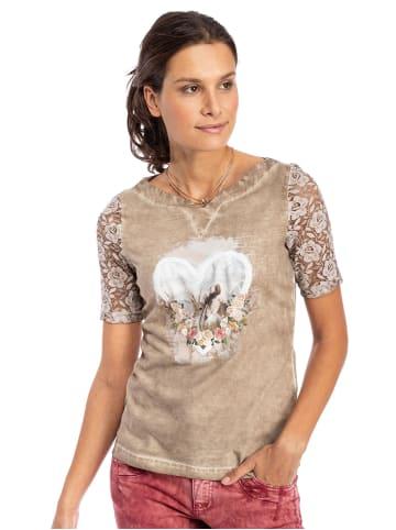 Trachten Stoiber T-Shirt 321142 hellbraun