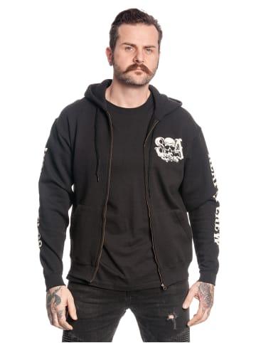 Fox Kapuzensweatjacke Sons of Anarchy Reaper Crew in schwarz
