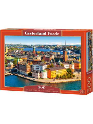 Castorland Puzzle 500 Teile Die Altstadt von Stockholm,Schweden