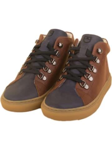 DULIS Echtleder Sneakers High mit Schurwoll-Futter