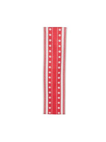 Pureday Tischläufer Tjorven, Rot/Weiß