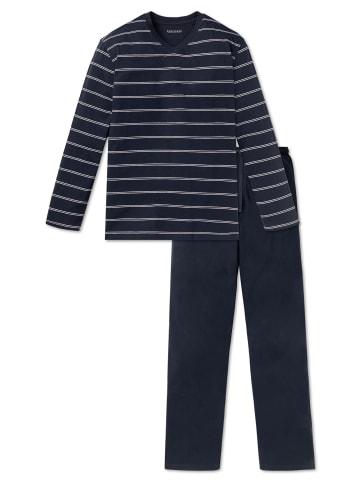 Schiesser Pyjama in Marine