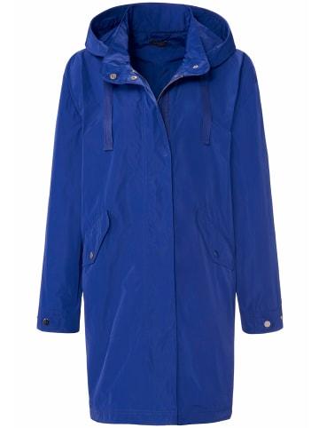 MYBC Outdoorjacke Jacke mit abnehmbarer Kapuze in royalblau
