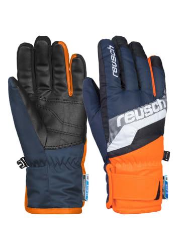 Reusch Fingerhandschuh Dario R-TEX® XT Junior in dres blu/white/shoc orang
