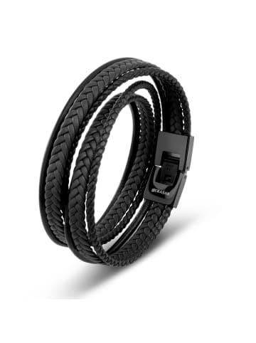 "SERASAR Armband ""Wrap"" in Schwarz"