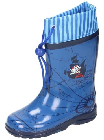 Capt`n Sharky Gummistiefel in blau