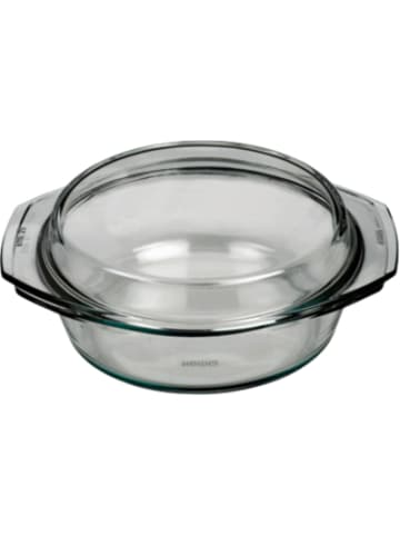 BOHEMIA Selection feuerfeste Glas Schüssel mit Deckel, bis 300°C, 1,5l