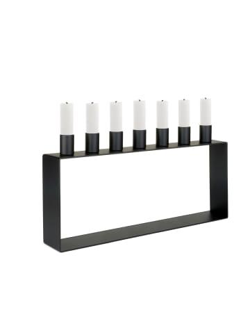 Novoform  Kerzenständer FRAME 7 in schwarz