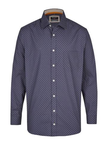 Bexleys man Langarmhemd in blau
