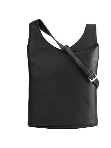VLD VOi Leather Design Soft Henriette Umhängetasche Leder 29 cm in schwarz