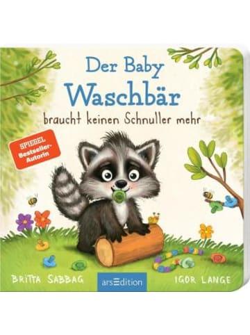Ars edition Der Baby Waschbär braucht keinen Schnuller mehr