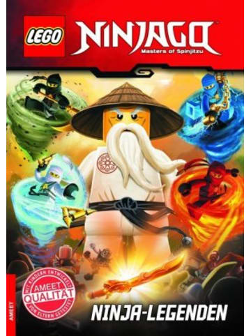 Ameet LEGO® NINJAGO(TM) Ninja-Legenden