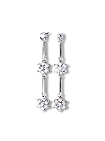 MONA MON'AMOUR Ohrhänger 925/- Sterling Silber in weiß