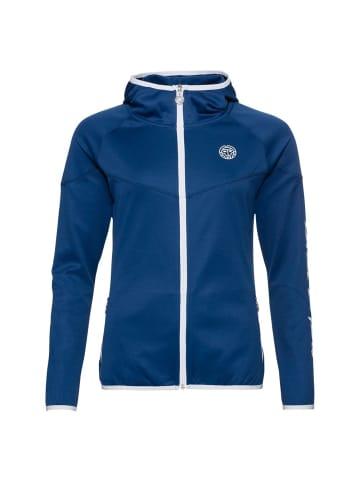 BIDI BADU Inga Tech Jacket in dunkelblau/weiß