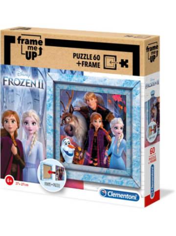 Clementoni Rahmen Puzzle 60 Teile Frame me up - Disney Eiskönigin 2