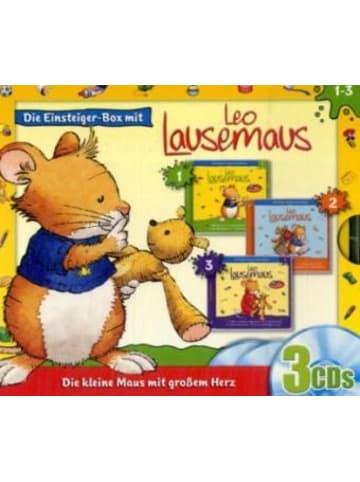 Kiddinx Media Leo Lausemaus - Einsteiger-Box. Folgen.1-3, 3 Audio-CDs