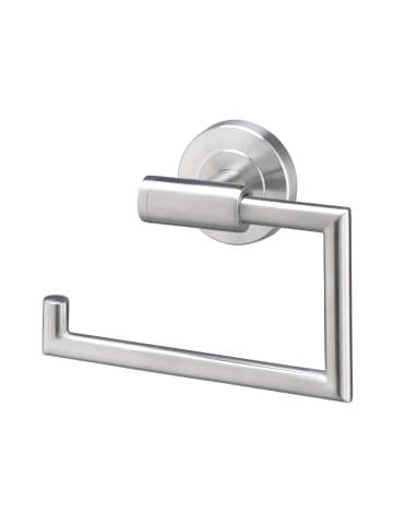 AMARE Toilettenpapierrollenhalter mit Absenkdämpfung in Silber