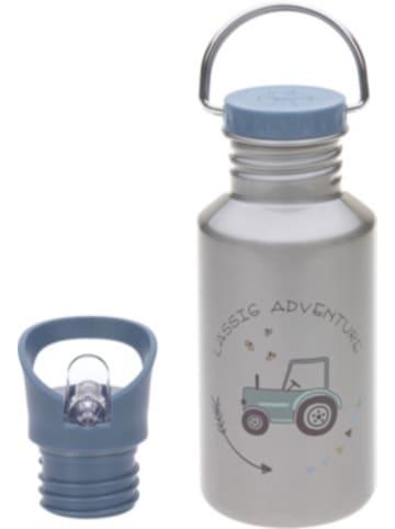 Lässig Edelstahl Trinkflasche Adventure Traktor, 500 ml