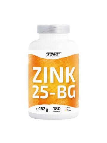 TNT True Nutrition Technology Tabletten Zink 25-BG (180 Tabletten) in bunt