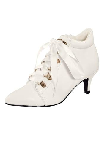 Liva Loop Ankle Boot in Weiß