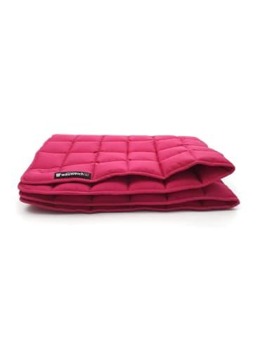 Wauweich Hundedecke gesteppt 95 Grad 110 x 90 cm, pink