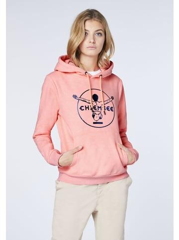 Chiemsee Sweatshirt in Neon Pink