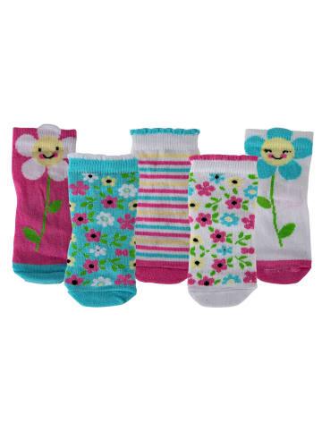 Cucamelon Socken 5er Pack in Blumen