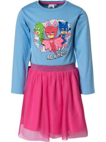 PJMASKS  PJ Masks Kinder Jerseykleid mit Tüllrock