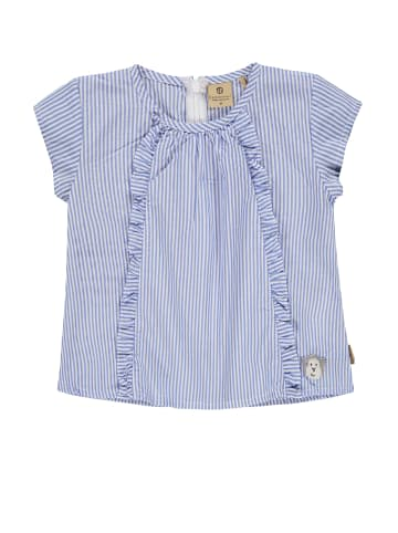 Bellybutton Bluse kurzärmlig in y/d stripe vertical