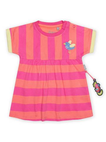 "Sigikid Longshirt/Kleid ""Paradise Birds"" in Pink/Orange"