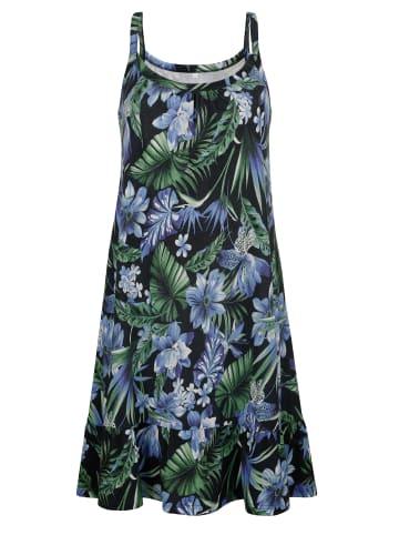 Maritim Strandkleid in Blau,Grün