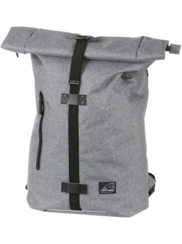 WALKER Rucksack Kuriertasche CLASSIC grey melange
