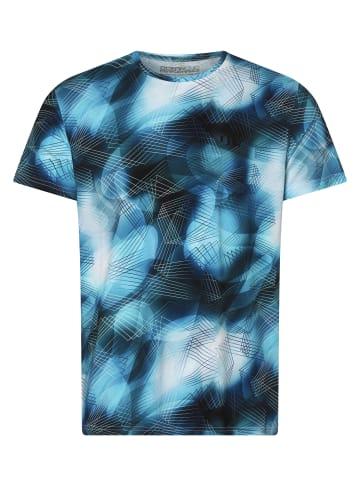 Ocean Cup T-Shirt in türkis marine