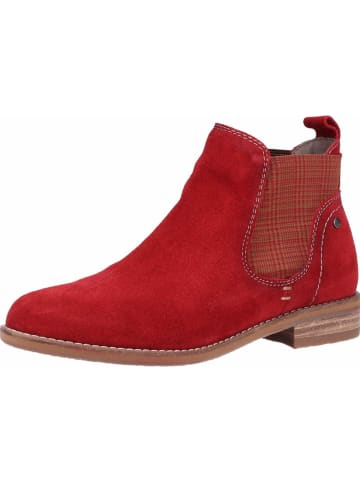 BE NATURAL Stiefelette in rot