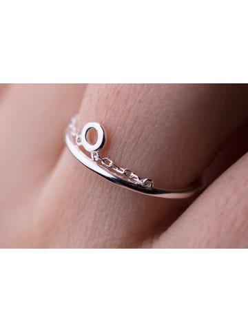 "Possum Ring""Pure Circle"" 925 Sterling silber rhodiniert"