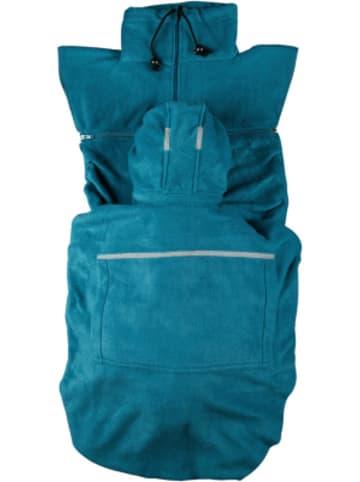 "Hoppediz Fleece-Cover ""Basic"", Petrol"
