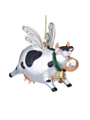 Butlers Anhänger fliegende Kuh HANG ON in weiß